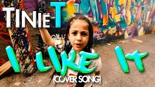 Cardi B, Bad Bunny & J Balvin - I Like it (Cover by 7 year old Tinie T) | MihranTV Video