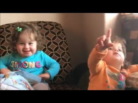 Twin Babies Molly and Maya  Cutest Moments  -   Youtube