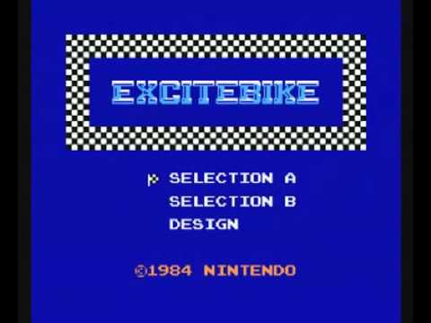 Excitebike (NES) - Title Theme - 10 Hour Extended Music