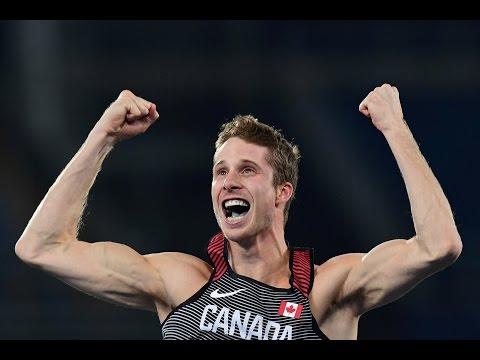 High jumper Derek Drouin wins gold at the Rio Olympics