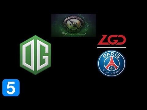 OG vs PSG.LGD Game 5 Grand Final The International 2018 Highlights Dota 2