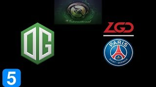 OG vs PSG.LGD Game 5 Grand Final The International 2018 Highlights Dota 2