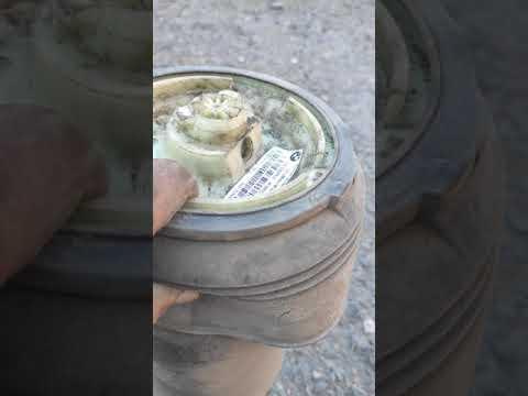 Замена задних пневмобаллонов на БМВ Х5 е70
