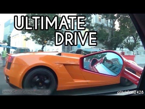 The Ultimate Drive Singapore Experience - Ferrari F430 Spider & Lamborghini Gallardo Spyder