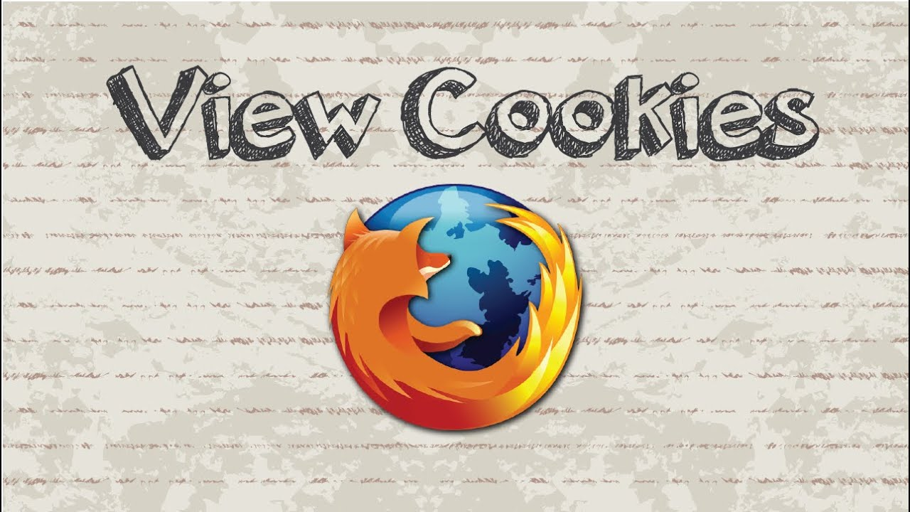 How To View Cookies In Firefox