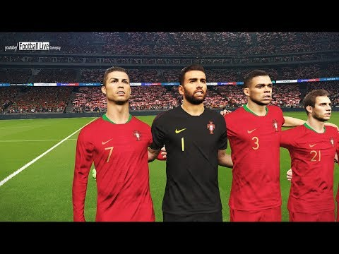 PES 2018 | IRAN vs PORTUGAL | Full Match & Amazing Goals | Gameplay PC