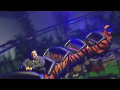 Tiger Terror Front Row Safari Land Villa Park, IL 11-24-17