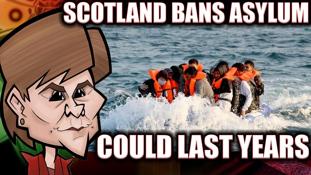 Scotland/Glasgow bans asylum seekers possibly for years 😜🤑