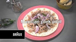 Braun MultiQuick 9 | Mexican Pork Pibil | Recipe
