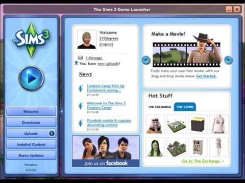 лаунчер Sims 3 скачать - фото 5