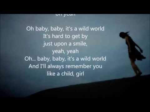 Mr Big - Wild World - HQ - Scroll Lyrics