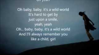 Mr big - wild world lyrics hello to all ...this is just one of 77 scroll i have made since now.....take a look inside my channel and enjoy good musi...