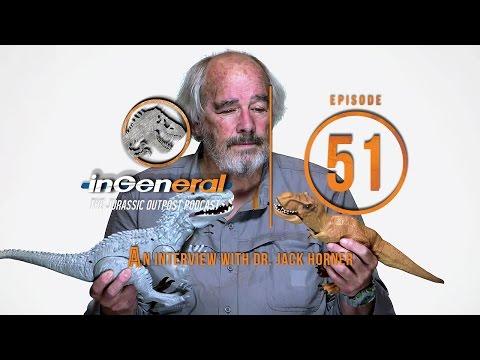 An Interview with Dr. Jack Horner | InGeneral - Episode 51 | Jurassic Park Podcast