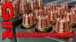 G2 RIP 9mm  - Ballistic Gelatin Test