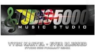 VYBZ KARTEL - EVER BLESSED (5000 PUNAANY REMIX)