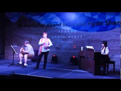 Bayerischer Abend im Grand Hyatt Shenyang mit Anna Spies und Stephan Suetterlin