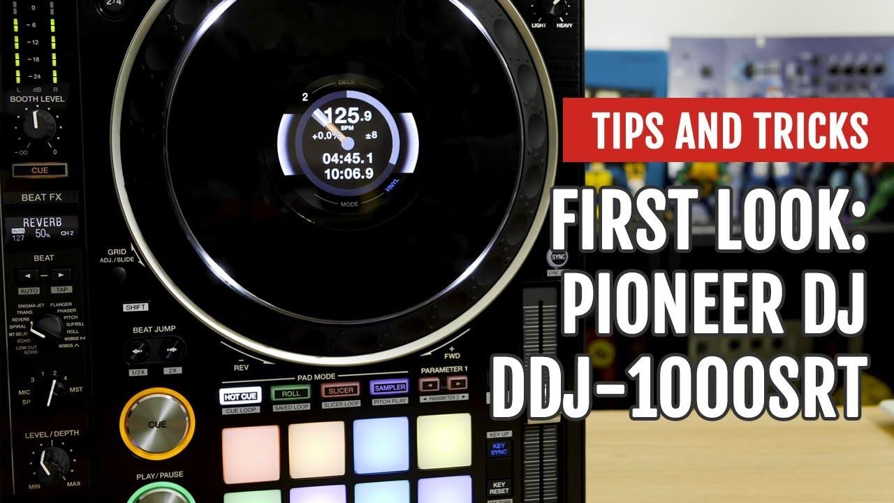 Pioneer DJ DDJ-1000SRT | First Look | Tips and Tricks