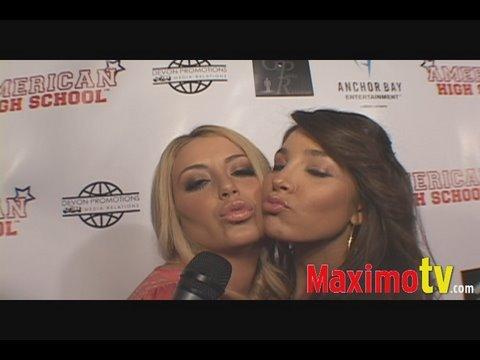 Aubrey O'Day & Melissa Molinaro LOVE