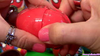 Spiderman Choco Treasure SURPRISE BOXES from Adventures of Spider-man Huevos Sorpresa