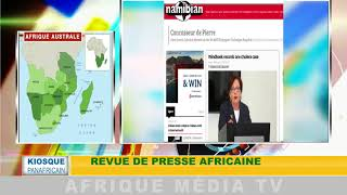 KIOSQUE PANAFRICAIN DU 01 02 2018 : REVUE DE PRESSE AFRICAINE