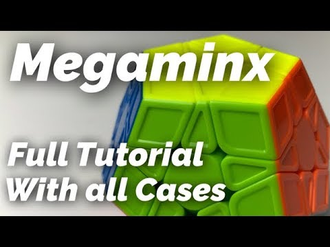 Megaminx Full Tutorial with all Cases and Algorithms