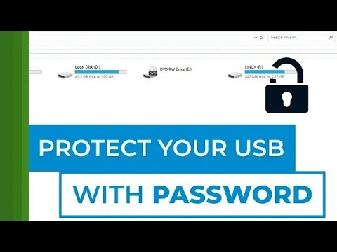 How To Protect USB With Password - Windows 10. | @ultimate_offer