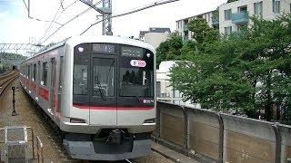 東急5050系5174F各停武蔵小杉行き 東横線多摩川駅入線