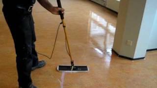 Linoleum onderhoud BNP Schoonmaakbedrijf