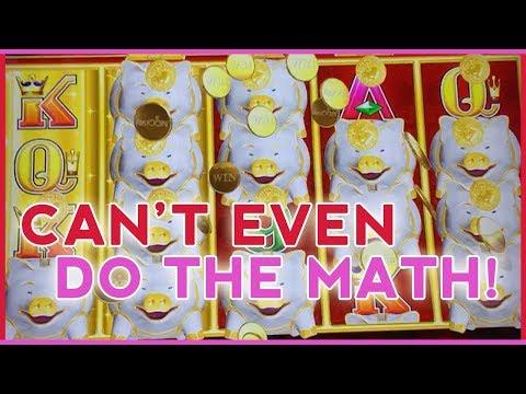 🐷🐷🐷 Soo Many PIGGIES 🐽 I Can't do the Math! 💰 ✦ Slot Machine Fruit Machines w Brian Christopher