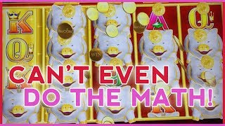 🐷🐷🐷 Soo Many PIGGIES 🐽 I Can't do the Math! 💰 ✦ Slot Machine Fruit Machines w Brian Christopher