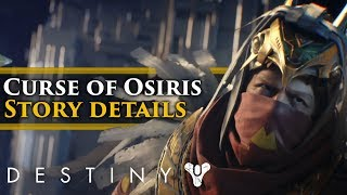 Destiny 2: Curse of Osiris Lore - Story Details you might've missed from the first Bungie stream!