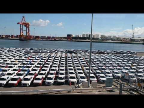 Hyundai Avalange, Fremantle Port , Western Australia