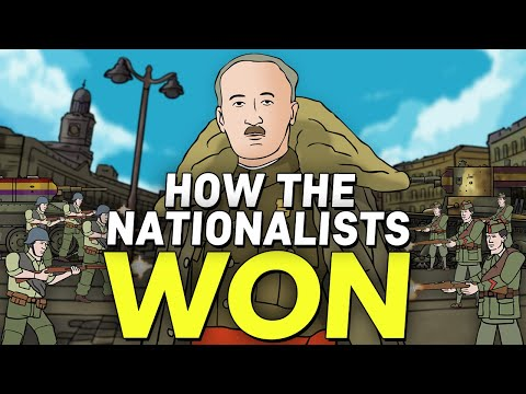 How The Nationalists Won The Spanish Civil War (ft. History W/Hilbert) | Animated History