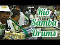 SAMBA DRUMMING RIO CARNIVAL DRUMS AT IT´S BEST FULL BATUCADA LIVE AT SAMBADROME