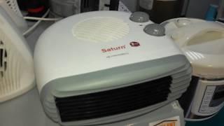 Saturn st-ht8340 Обзор и распаковка тепловентилятора