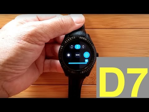 No.1 D7 LONG LIFE Android Smartwatch: Unboxing and Review