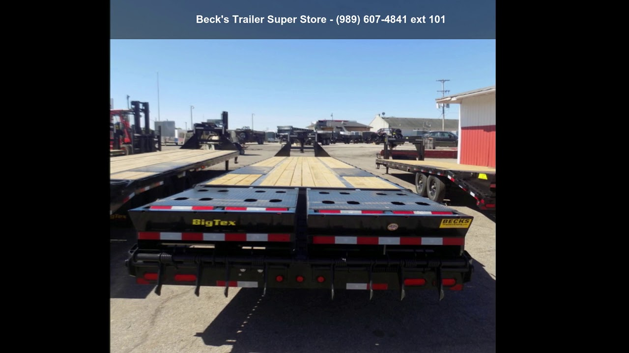 2019 Big Tex Trailers 25gn 35 5 Youtube Trailer Wiring Harness