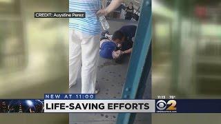 Transit Cop Saves Teen