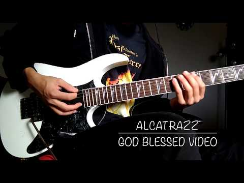 Alcatrazz - God Blessed Video Guitar Cover