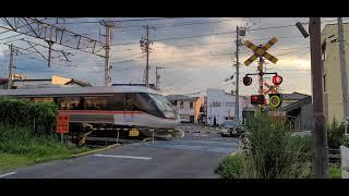 【新しい音?】JR篠ノ井線 野村踏切