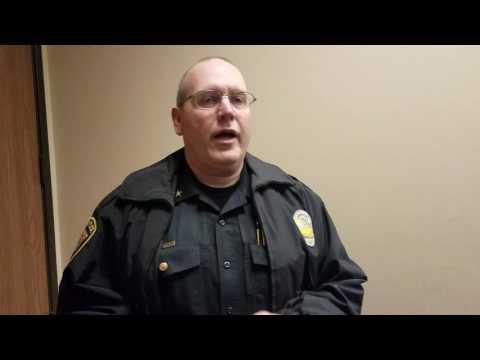 Robbie tries to file criminal complaint on cops