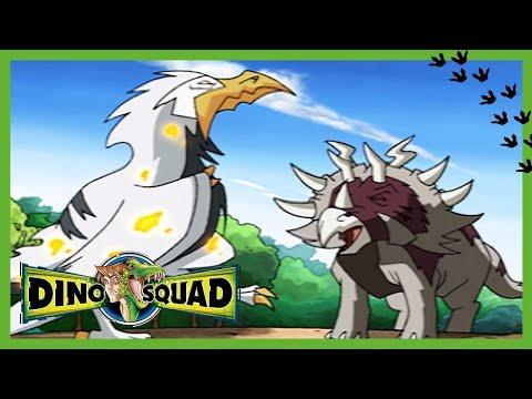 Esquadrão Dino 106 - Um Briguento para Você | Cartoons de dinossauros para crianças 🦖