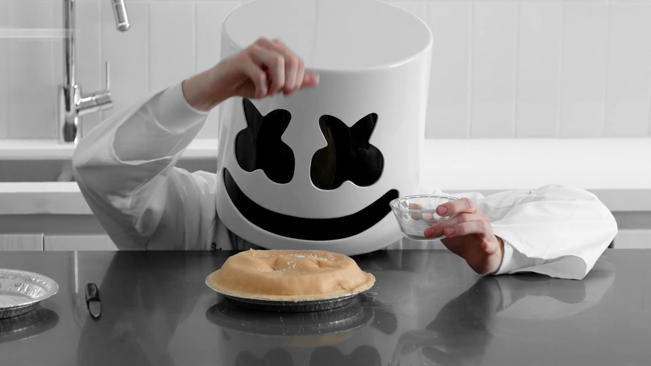 Cooking with Marshmello: How To Make Peach Pie  (Shaky Beats Edition)