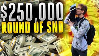 250,000 Dollar Round of SnD