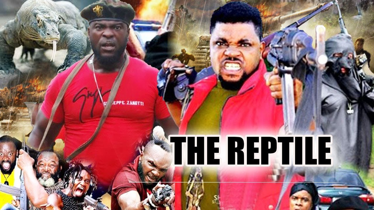 Download The Reptile Part 3&4 - Emmanuel Ehumadu trending action movie on YouTube/Nigeria Nollywood movie