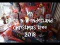 my alice in wonderland tree 2018