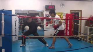 廉vs井上 マスボクシング