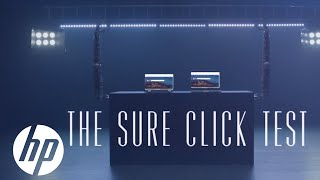 The Test | HP Sure Click | HP