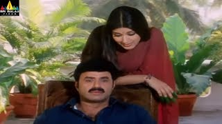 Sonali Bendre Scenes Back to Back | Palanati Brahmanaidu Movie Scenes | Sri Balaji Video