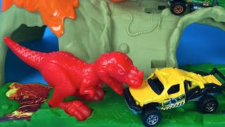 Matchbox on a Mission Raiders T-Rex Dinosaurs for kids playset + blind bag